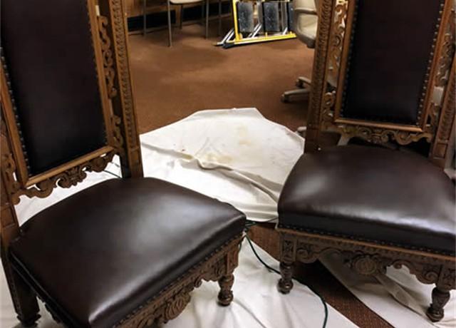 Surprising Gallery Leather Restoration Milwaukee Waukesha Wisconsin Creativecarmelina Interior Chair Design Creativecarmelinacom